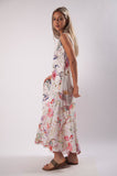 Floral Patch Maxi Dress