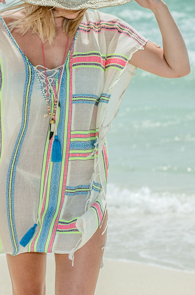 Hawaiian Neon Cover up