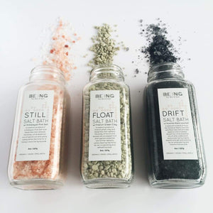 Bath Salts Spa Gift Set Collection - LIVE BY BEING