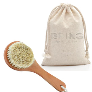 Exfoliating Dry Body Brush - LIVE BY BEING