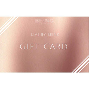 LIVE BY BEING Gift Card - LIVE BY BEING