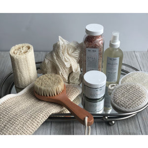 Natural Exfoliating Ramie Shower Pouf - LIVE BY BEING
