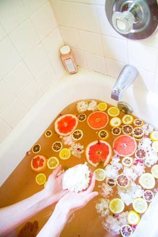 citrus bath soak