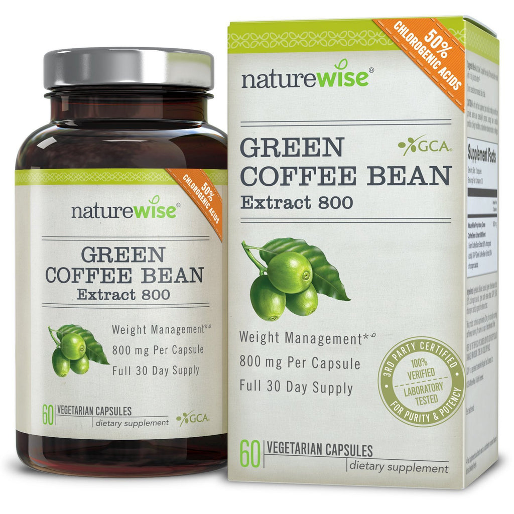 NatureWise Green Coffee Bean Extract Amazon
