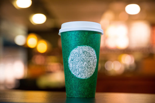 2015 Starbucks Mosaic Green Cup