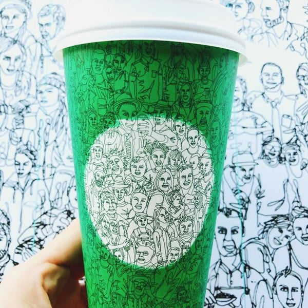2016 Green Upstander Starbucks Cup