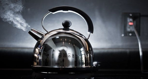 Boiling Water for A French Press