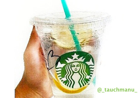Cool Lime Refresher with mango