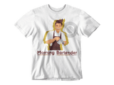 Barista Life Morning Bartender T-Shirt White