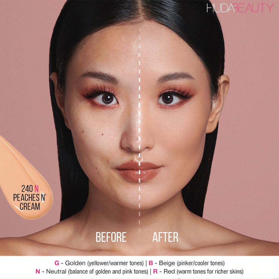 245B Peaches N Cream - light-medium skin with beigey-pink undertone