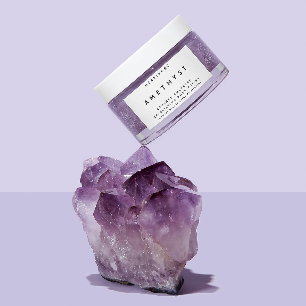Скраб Herbivore Crushed Amethyst Exfoliating Body Polish - Shopping TEMA
