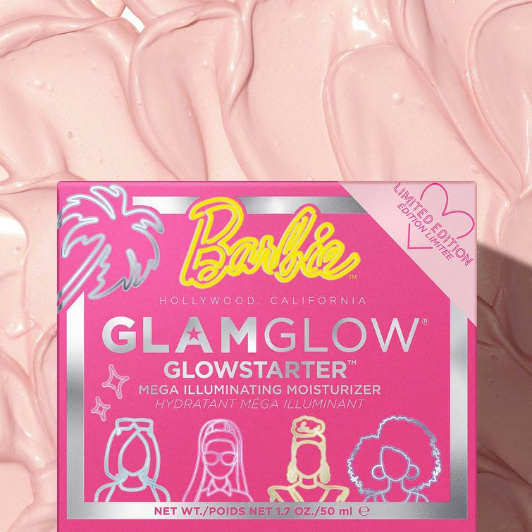 Крем Barbie x Glamglow Mega-Illuminating Moisturizer