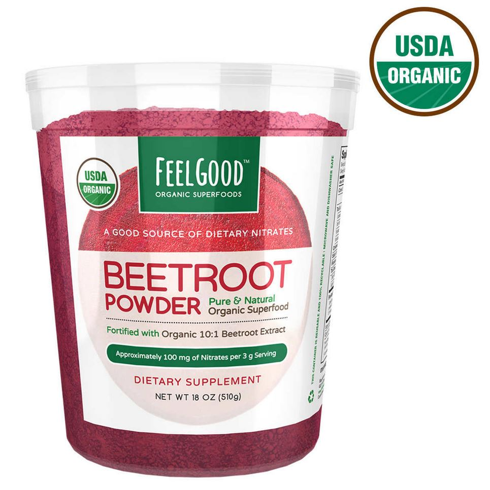 Порошок свеклы Feel Good USDA Organic Beetroot Powder