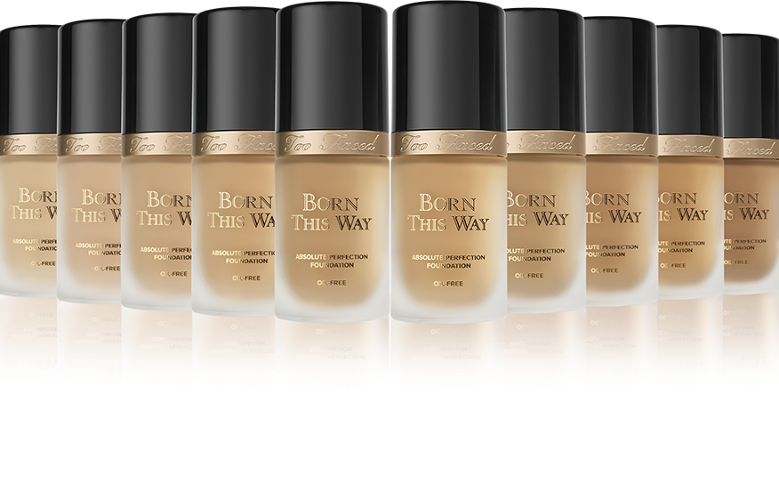 Тональная основа Too Faced Born This Way Foundation