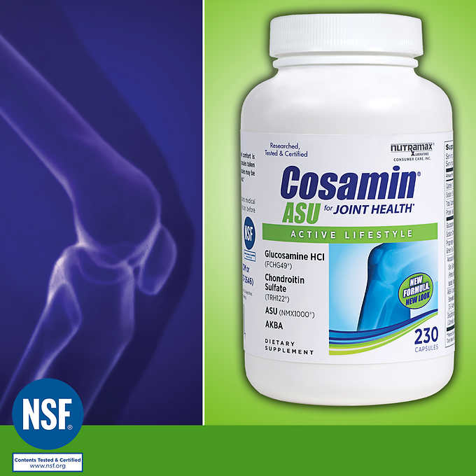 Комплекс для суставов Cosamin ASU for Joint Health, 230 капсул - Shopping TEMA