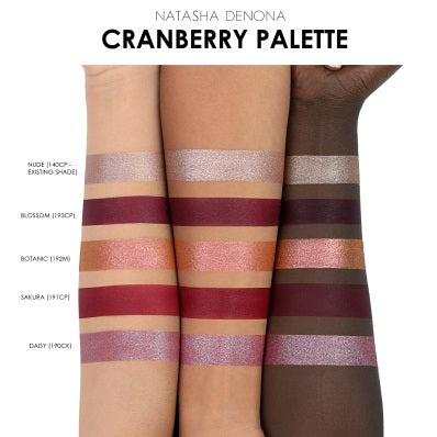 Палетка Natasha Denona Cranberry Eyeshadow Palette - Shopping TEMA