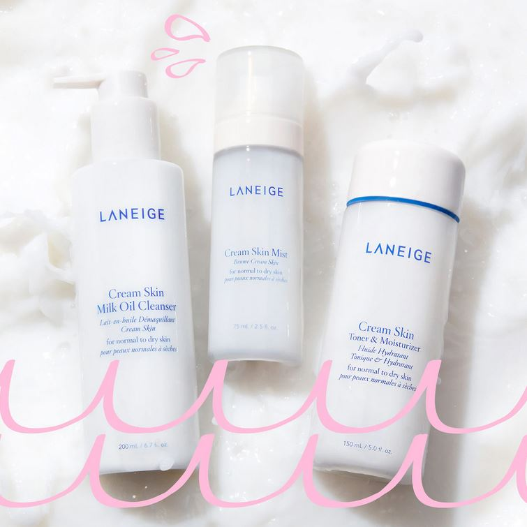 Масло-молочко Laneige Cream Skin Milk Oil Cleanser