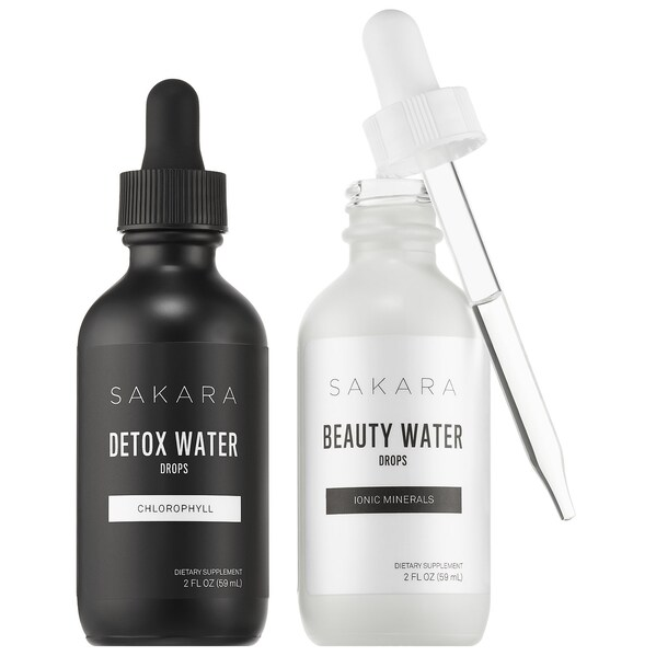 Комплекс Sakara Life Beauty + Detox Water Drops Duo