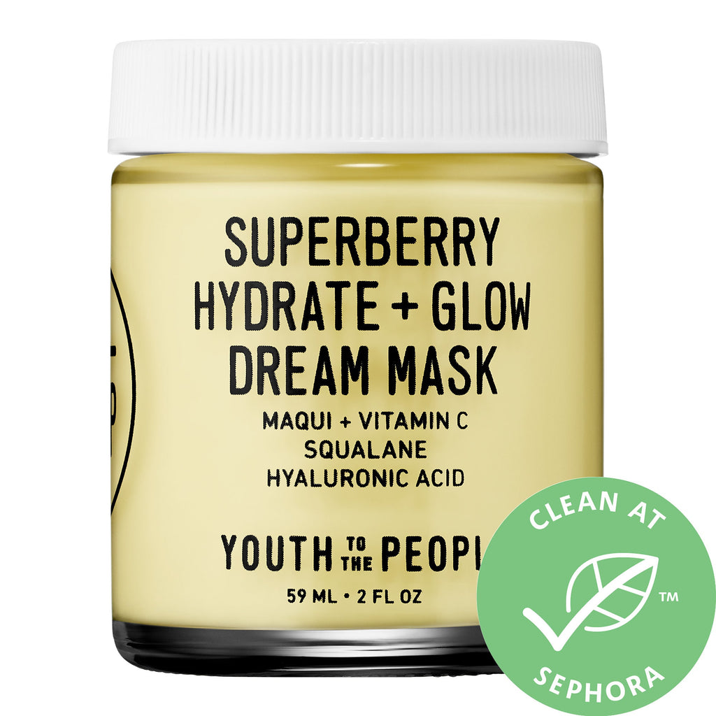 Ночная маска Youth To The People Superberry Hydrate + Glow Dream Mask - Shopping TEMA