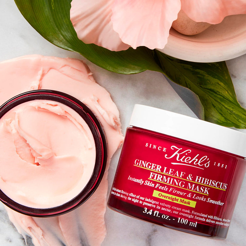 Маска Kiehl's Ginger Leaf & Hibiscus Firming Mask - Shopping TEMA