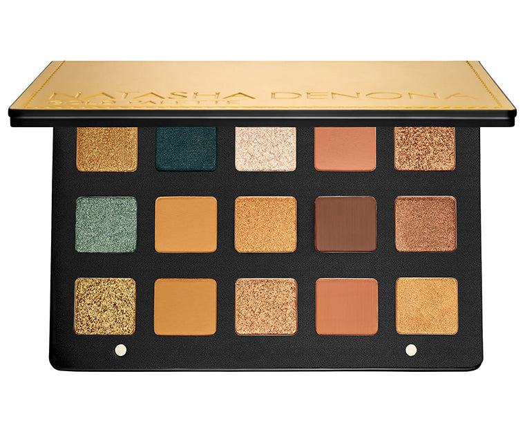 Палетка теней Natasha Denona Gold Eyeshadow Palette - Shopping TEMA