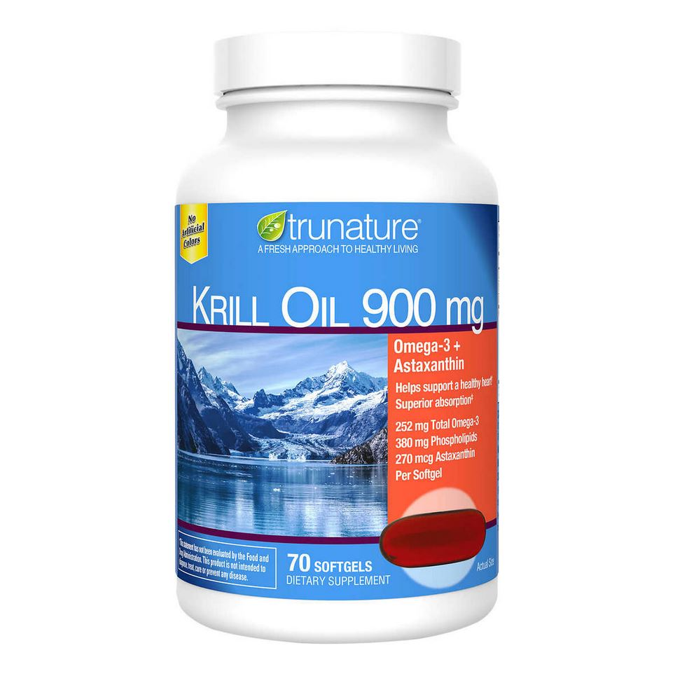 Крилевое масло trunature Extra Strength Krill Oil