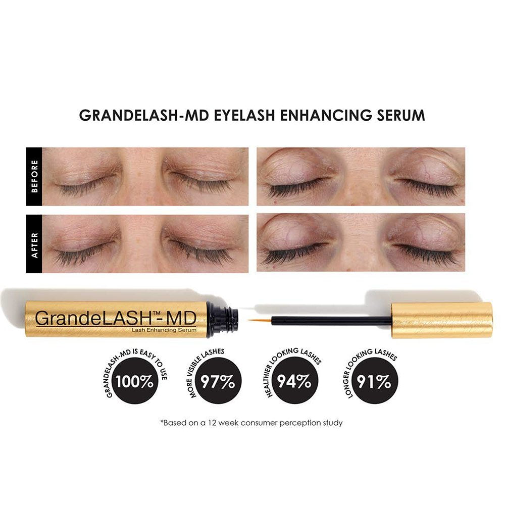 Сыворотка для роста ресниц Grande Cosmetics MD Lash Enhancing Serum - Shopping TEMA