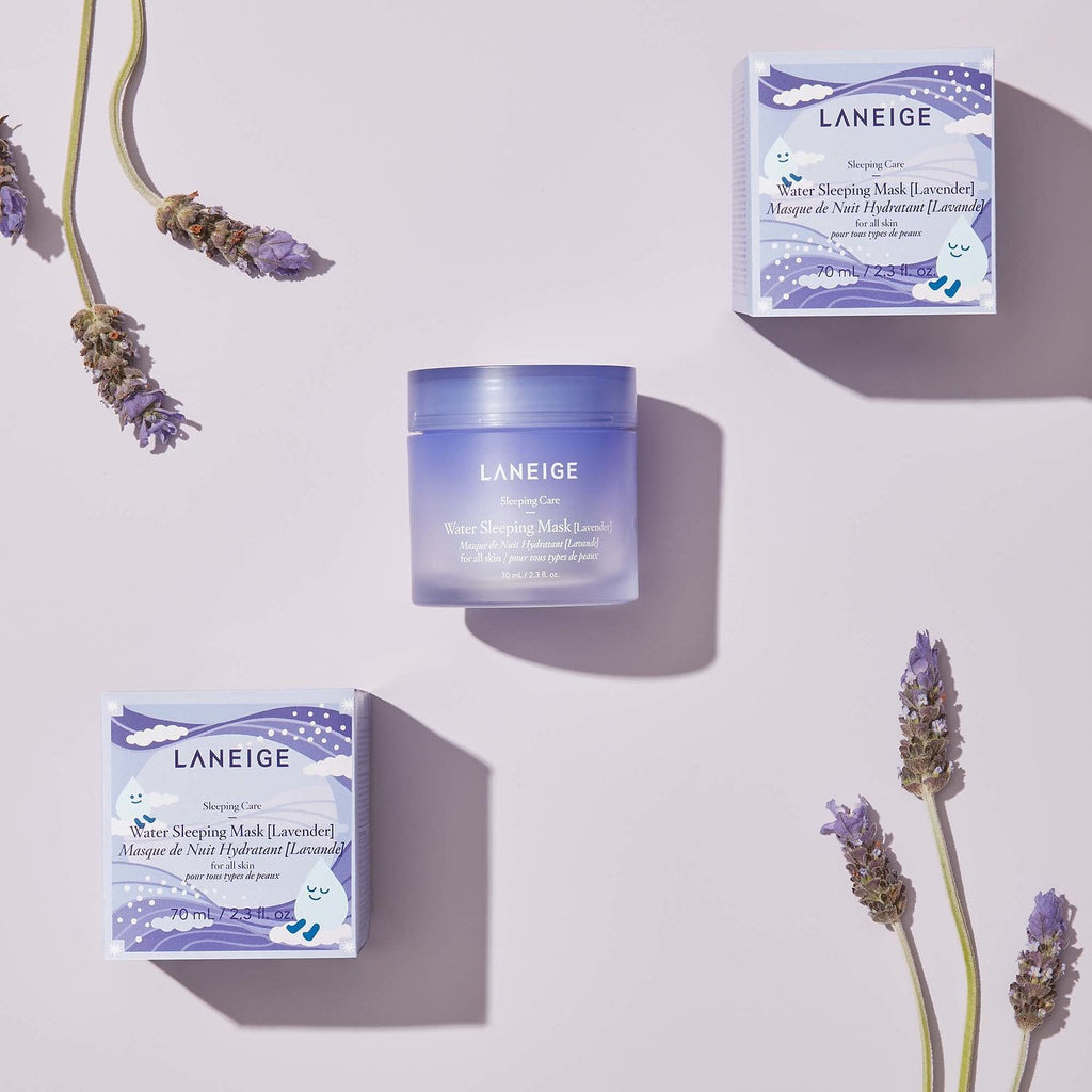 Ночная маска Laneige Lavender Water Sleeping Mask - Shopping TEMA
