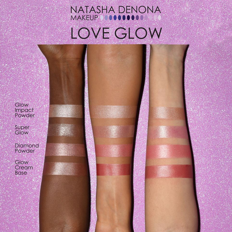 Палетка для лица Natasha Denona Love Glow - Shopping TEMA