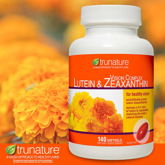 Поддержка Зрения trunature Lutein & Zeaxanthin, 140 капсул - Shopping TEMA