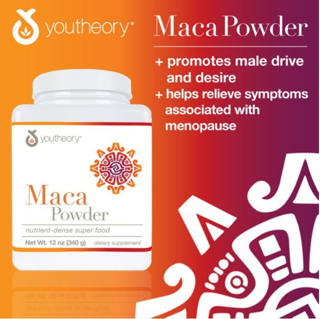 Порошок корня мака Youtheory™ Maca Root Powder, 340г - Shopping TEMA