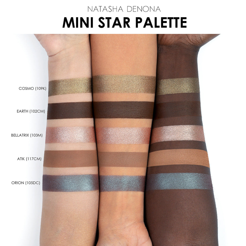 Мини-палетка Natasha Denona Mini Star Eyeshadow Palette - Shopping TEMA