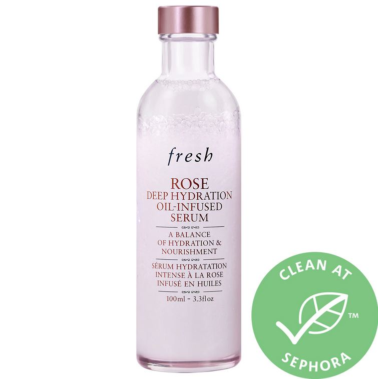 Сыворотка Fresh Rose Deep Hydration Oil-Infused Serum