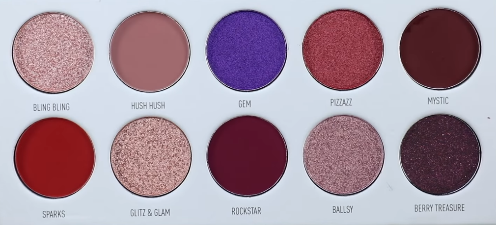 Палетка теней Morphe x Jaclyn Hill The Vault Bling Boss - Shopping TEMA