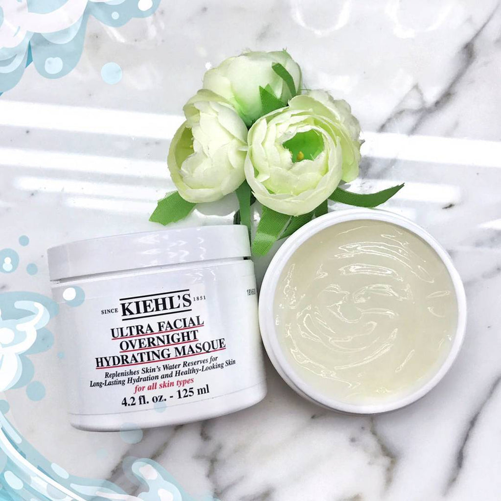 Маска Kiehls Ultra Facial Overnight Hydrating Mask - Shopping TEMA