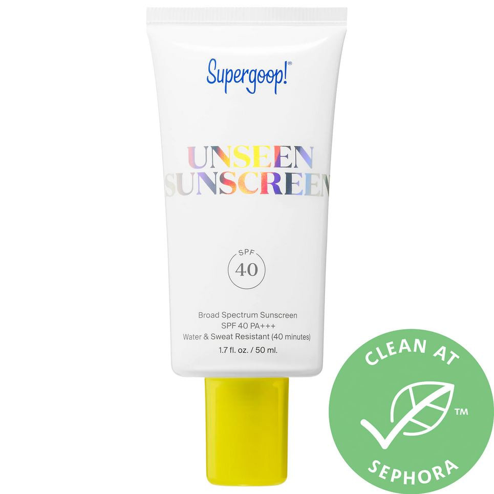 Праймер Supergoop! Unseen Sunscreen Broad Spectrum SPF 40 - Shopping TEMA