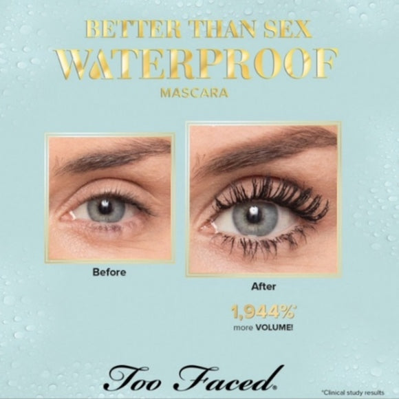 Тушь Too Faced Better Than Sex Waterproof Mascara - Shopping TEMA