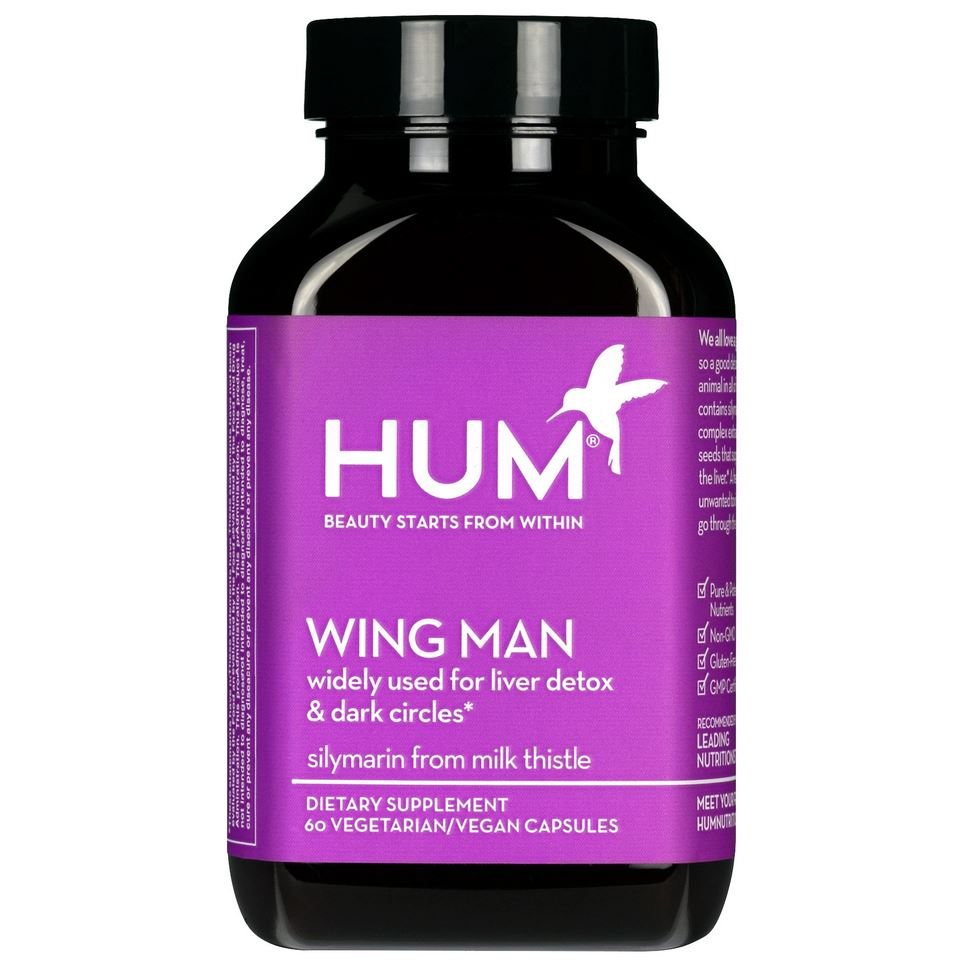 Комплекс Hum Nutrition Wing Man Liver Detox, 60 капсул - Shopping TEMA