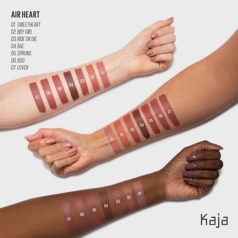 Помада Kaja Air Heart Lightweight Natural Finish Lipstick