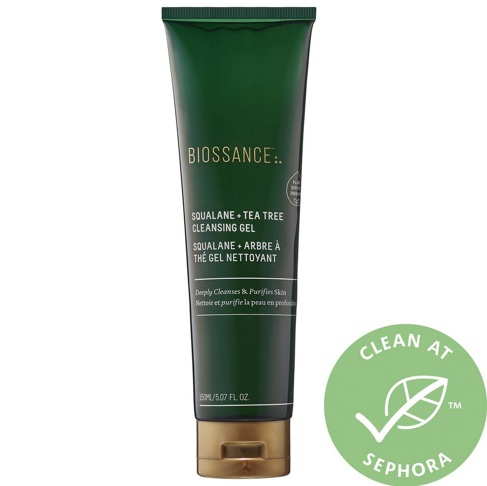 Очищающий гель Biossance Squalane + Tea Tree Cleansing Gel - Shopping TEMA