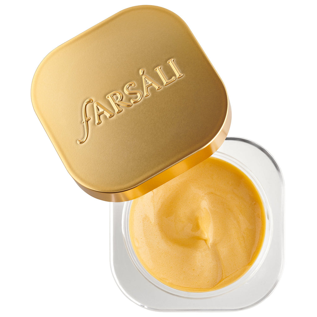 Крем для век FARSÁLI Haldi Eyes Brightening Turmeric Eye Cream - Shopping TEMA