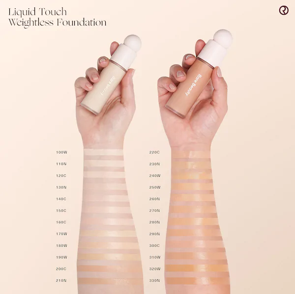 Тональная основа Rare Beauty Liquid Touch