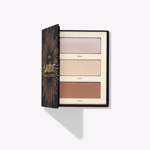 Палетка tarteist PRO glow to go highlight & contour palette