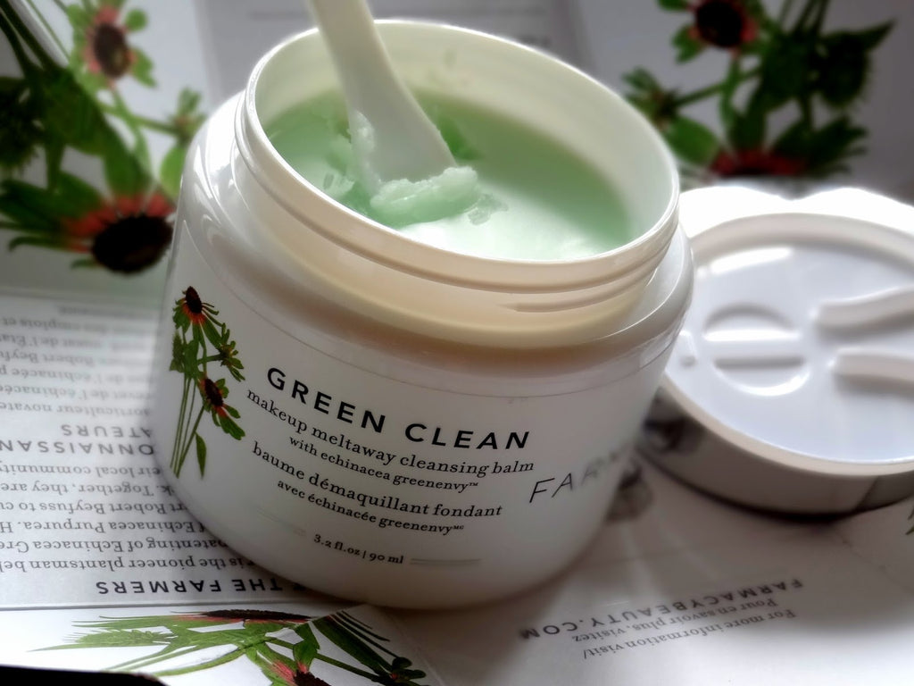 Очищающий бальзам Farmacy Green Clean Cleansing Balm - Shopping TEMA