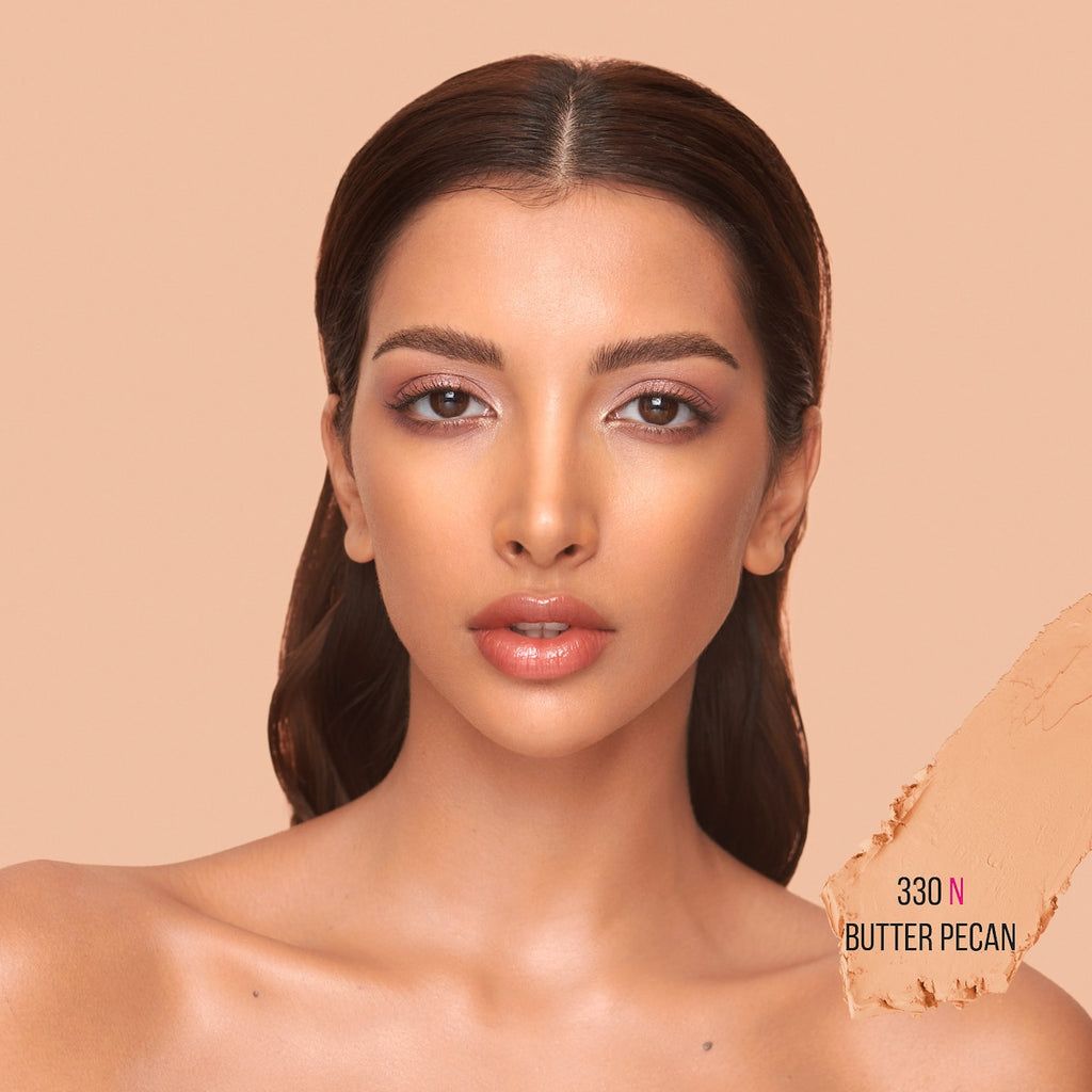 330N Butter Pecan - medium skin with neutral undertone