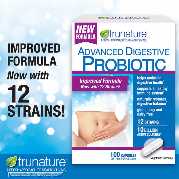 Пробиотик trunature® Digestive Probiotic, 100т - Shopping TEMA