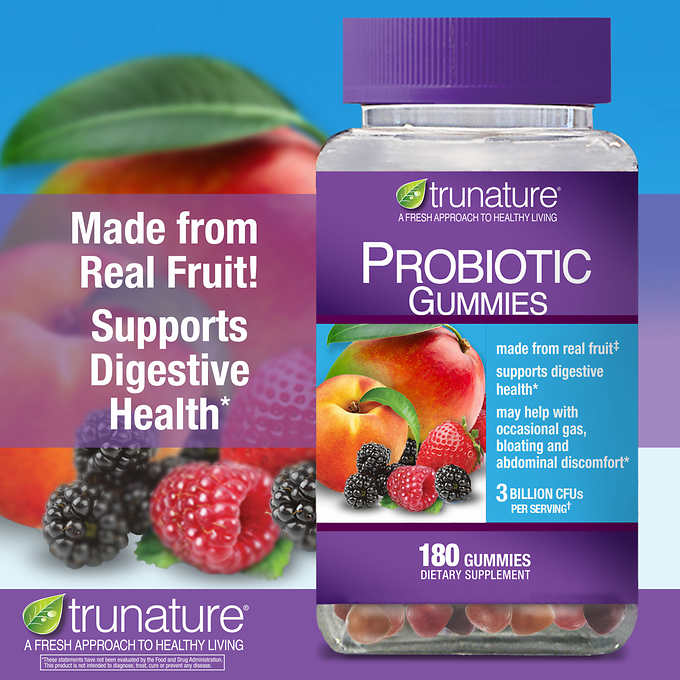 Пробиотик trunature Digestive Probiotic, 180 жев. конфет - Shopping TEMA
