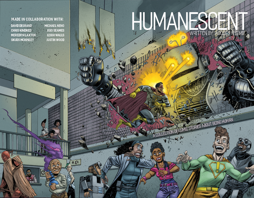 HUMANESCENT Cover