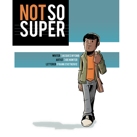 Comic - Not So Super (digital)