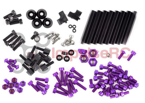 "ALIEN 5"" & 6"" FULL SCREW PACK - PURPLE"